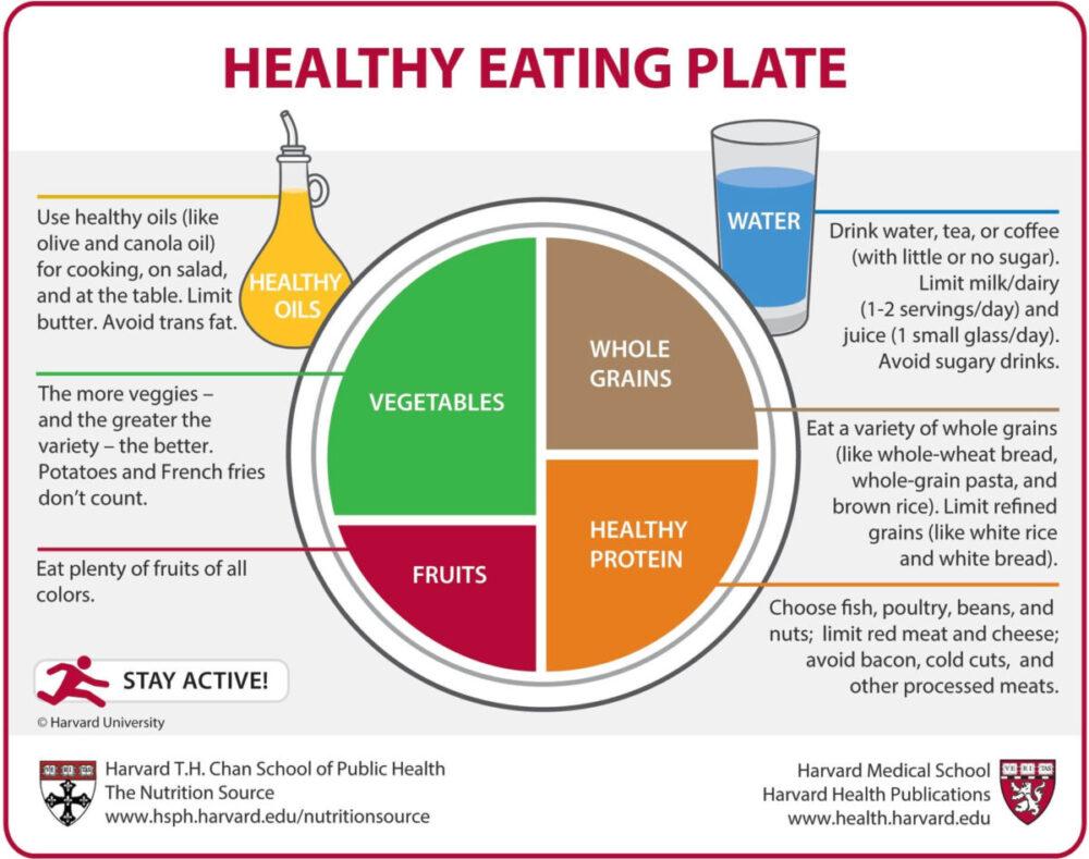 ハーバード大学「健康的な食事プレート(Healthy Eating Plate)」