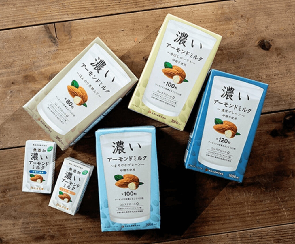 筑波乳業 無添加 濃いアーモンドミルク